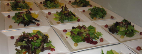 Salads for business reception